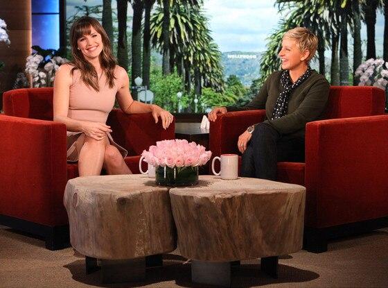 Jennifer Garner, Ellen DeGeneres, The Ellen Show
