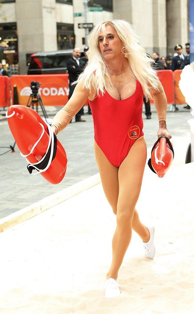 Matt Lauer Dresses Up As Pamela Anderson S Baywatch