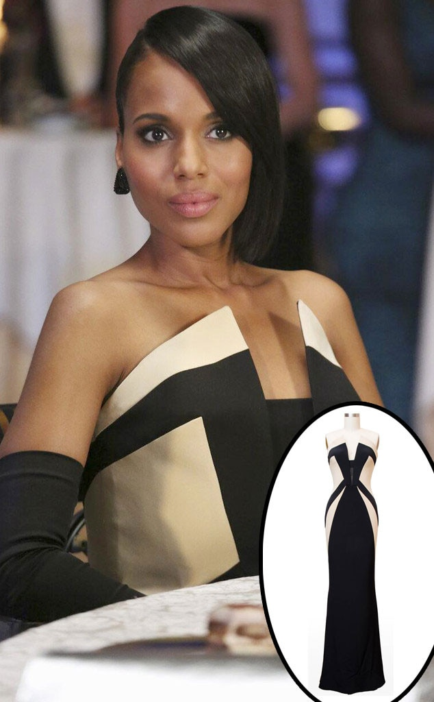 Kerry Washington, Scandal, Rubin Singer Dress