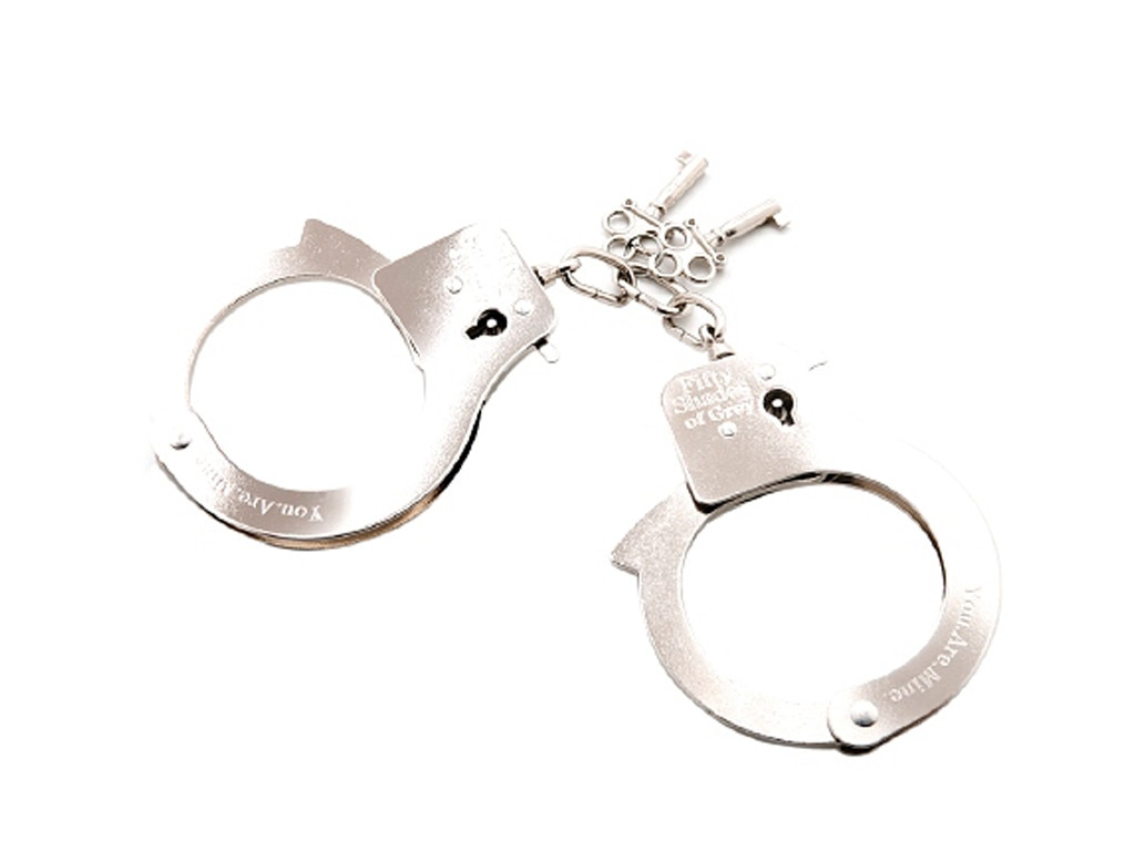 Fifty Shades of Grey, You. Are. Mine., Metal Handcuffs