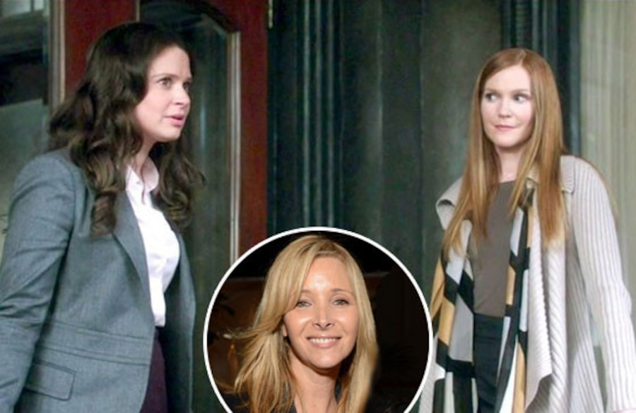 Katie Lowes, Darby Stanchfield, Scandal, Lisa Kudrow