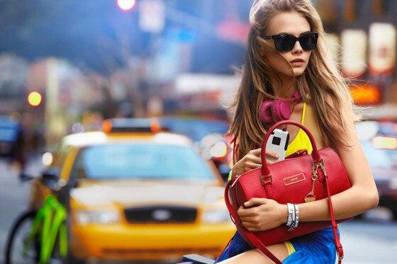 Cara Delevigne, DKNY Ad