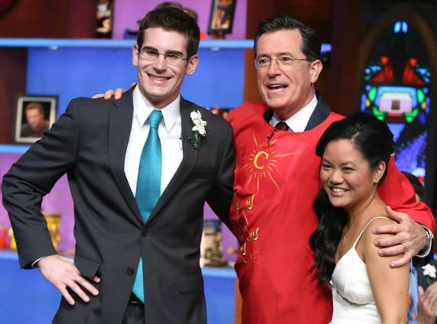 Stephen Colbert, Wedding