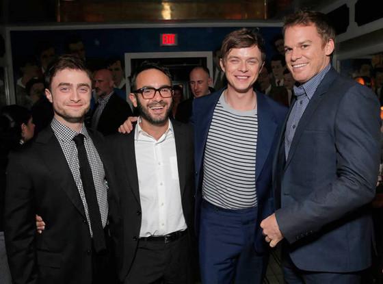 Daniel Radcliffe, John Krokidas, Dane DeHaan, Michael C. Hall