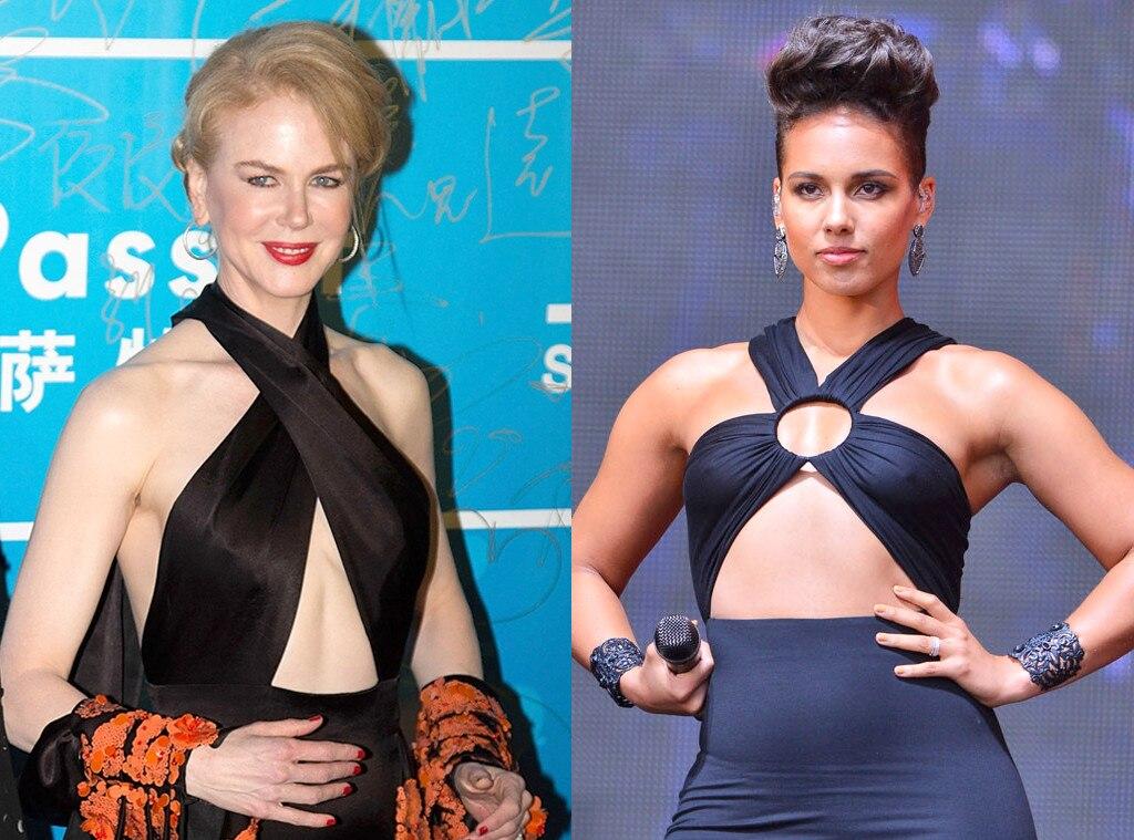 Nicole Kidman, Alicia Keys