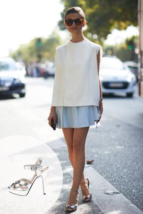 Paris Fashion, Silver Heel