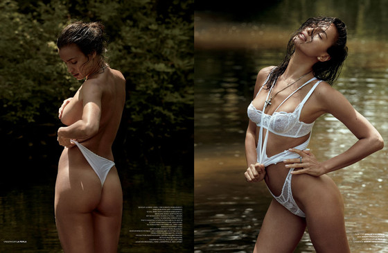 Irina Shayk, VMan