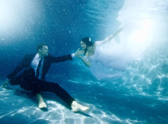 Owain Yeoman, Gigi Yallouz, Wedding