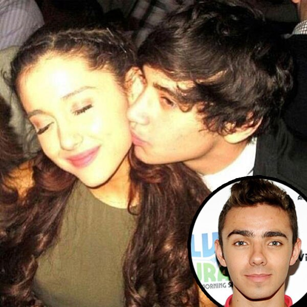 Ariana Grande, Jai Brooks, Nathan Sykes