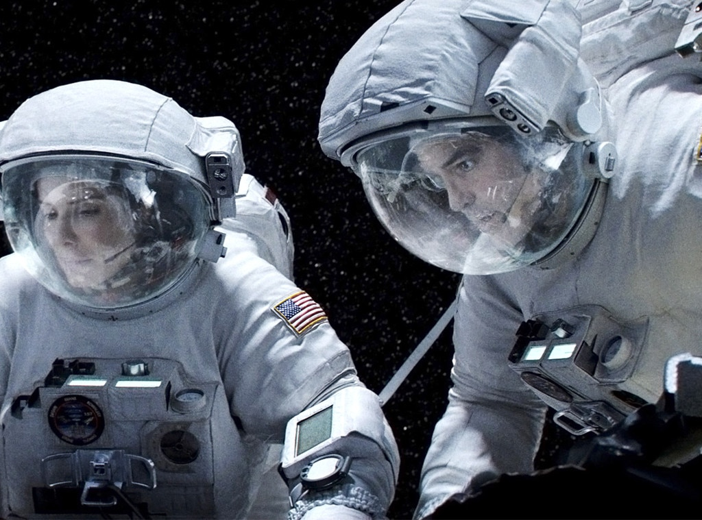 Sandra Bullock, George Clooney, Gravity