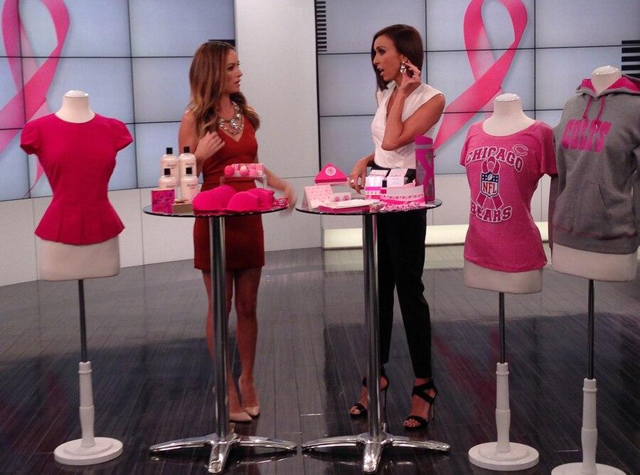E! News, Breast Cancer Awareness