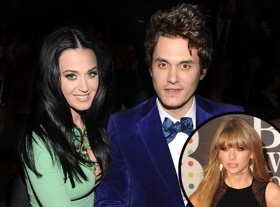 Katy Perry, Taylor Swift, John Mayer