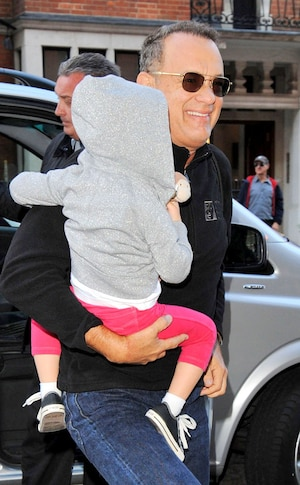 Tom Hanks, Grandson