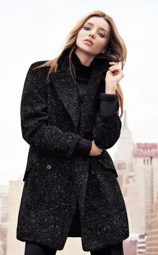 Miranda Kerr x Mango Winter 2013