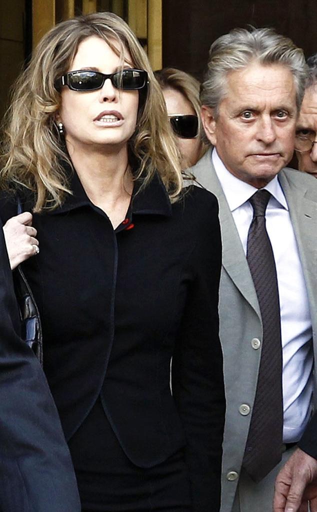 Diandra Douglas, Michael Douglas, Divorce