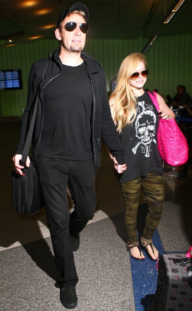 Avril Lavigne, Chad Kroeger, LAX