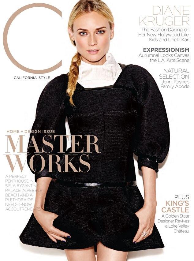 C Magazine, Diane Kruger