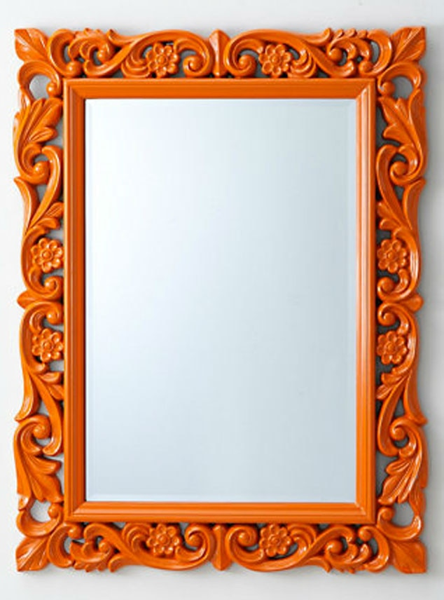 Fall Home Decor, Garnet Hill Chateau Mirror