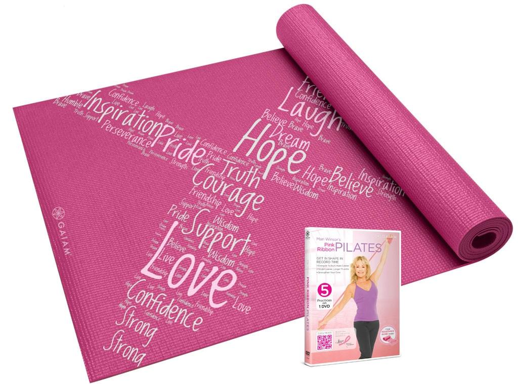 Mari Winsor Pilates Mat, DVD