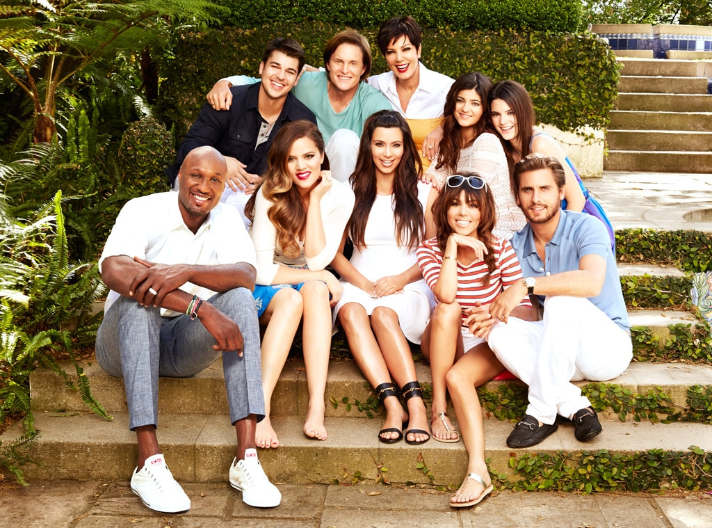 Keeping Up With The Kardashian, Lamar, Rob, Khloe, Bruce, Kim, Kris, Kylie, Kourtney, Kendall, Scott