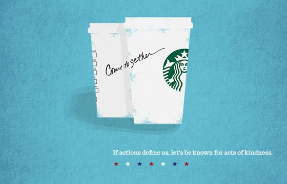 Starbucks, Come Together ad