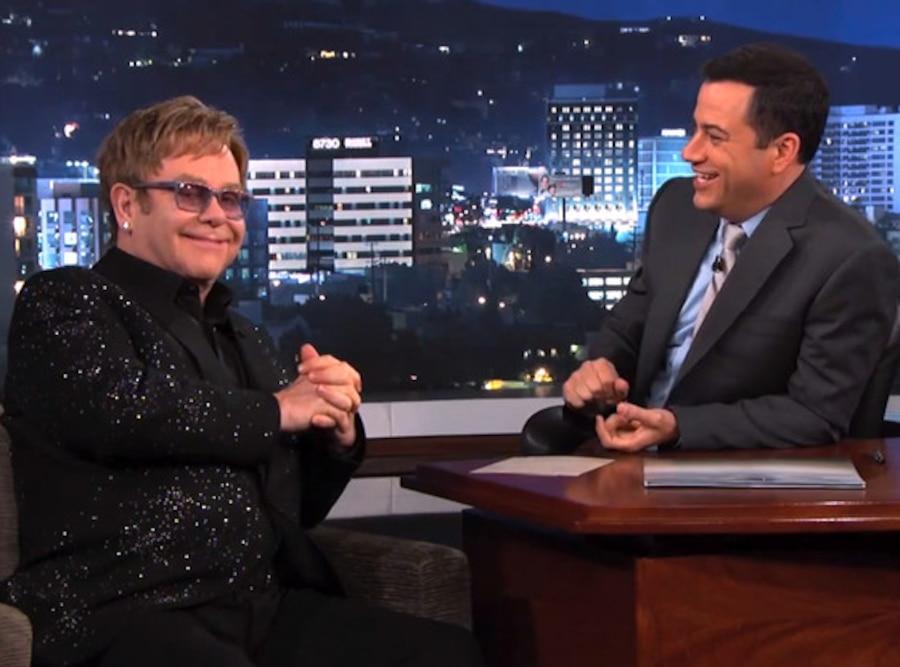Elton John, Jimmy Kimmel