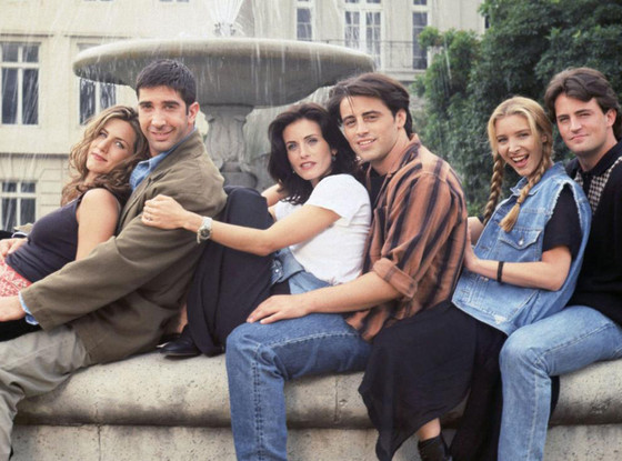 Friends, Cast Shot