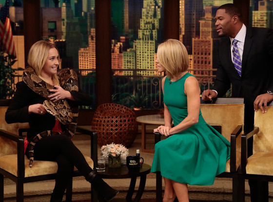 Hayden Panettiere, Live with Kelly & Michael
