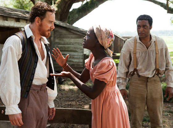 Chiwetel Ejiofor, Michael Fassbender, 12 Years a Slave, Twelve Years a Slave