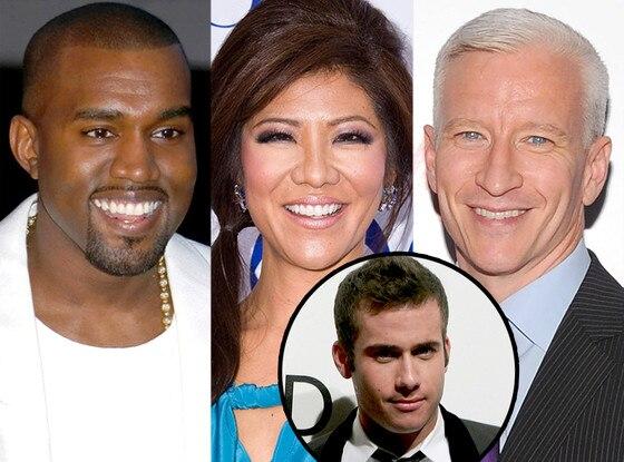 John Palermo, Kanye West, Julie Chen, Anderson Cooper