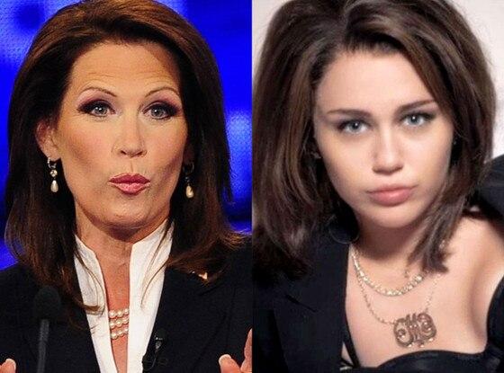 Michelle Bachmann, Miley Cyrus, Saturday Night Live