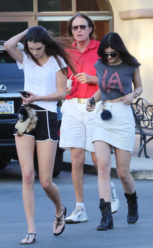 Bruce Jenner, Kendall Jenner, Kylie Jenner
