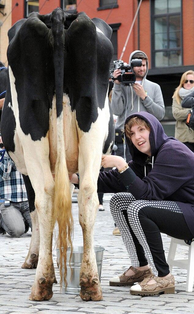 Lena Dunham, Cow