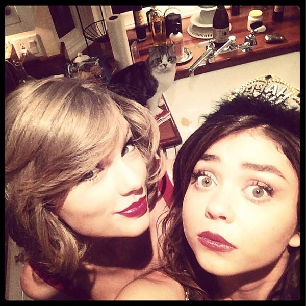 Taylor Swift, Sarah Hyland, Instagram