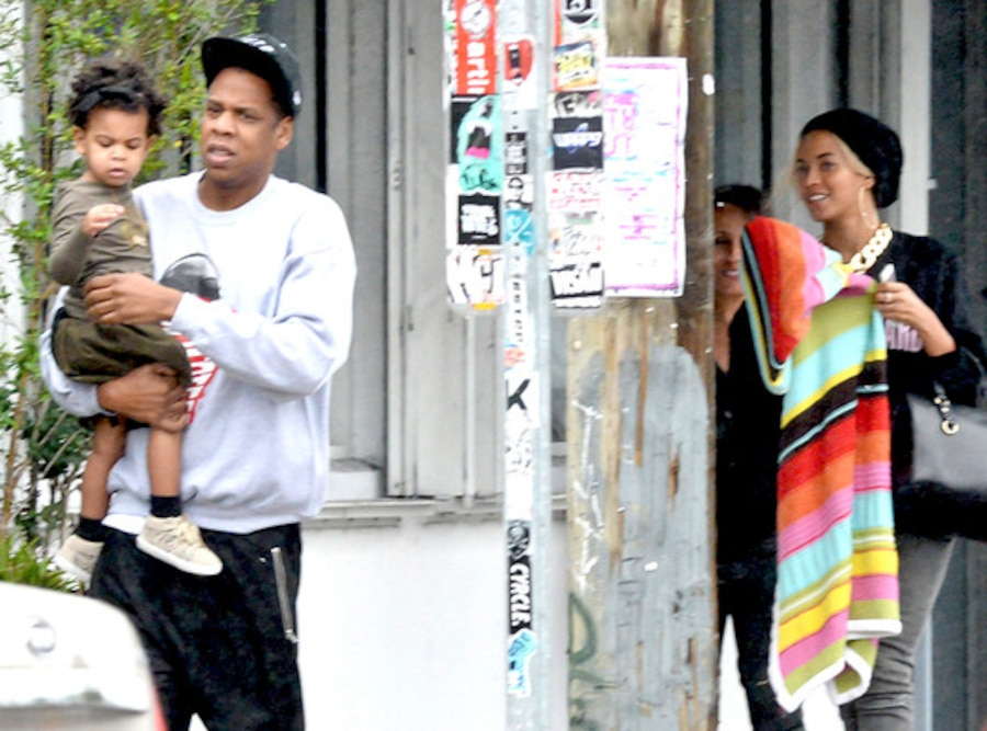 Beyonce Knowles, Jay-Z, Blue Ivy Carter