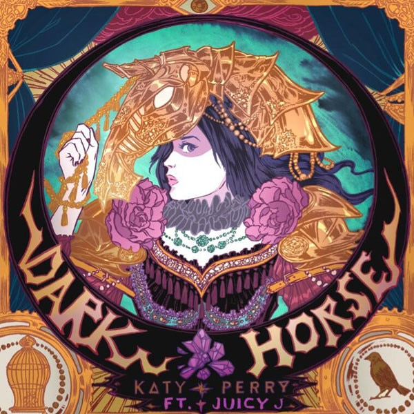 Katy Perry, Dark Horse, Twitter