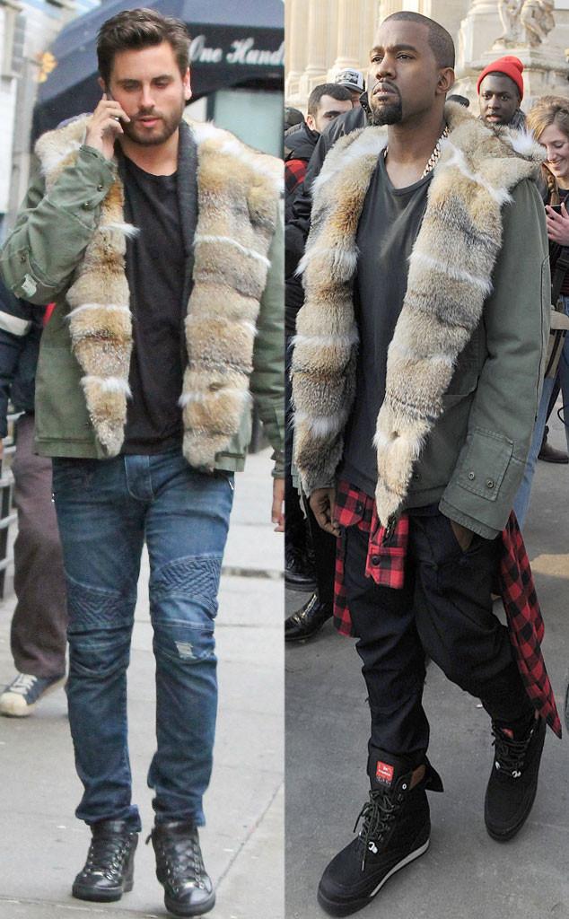 Scott Disick, Kanye West