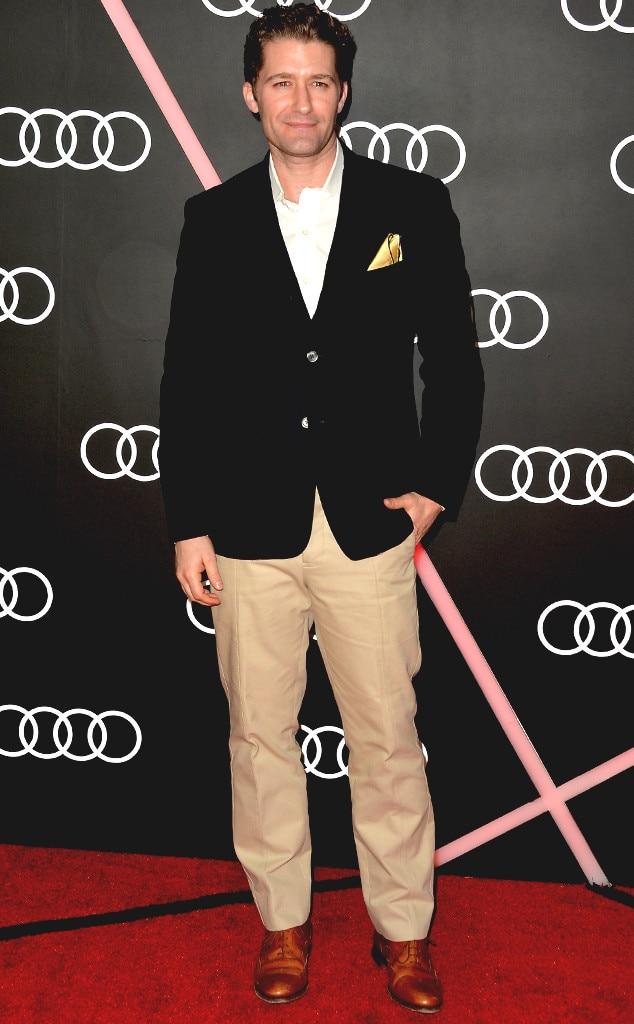 Matthew Morrison, Golden Globes Parties, Audi