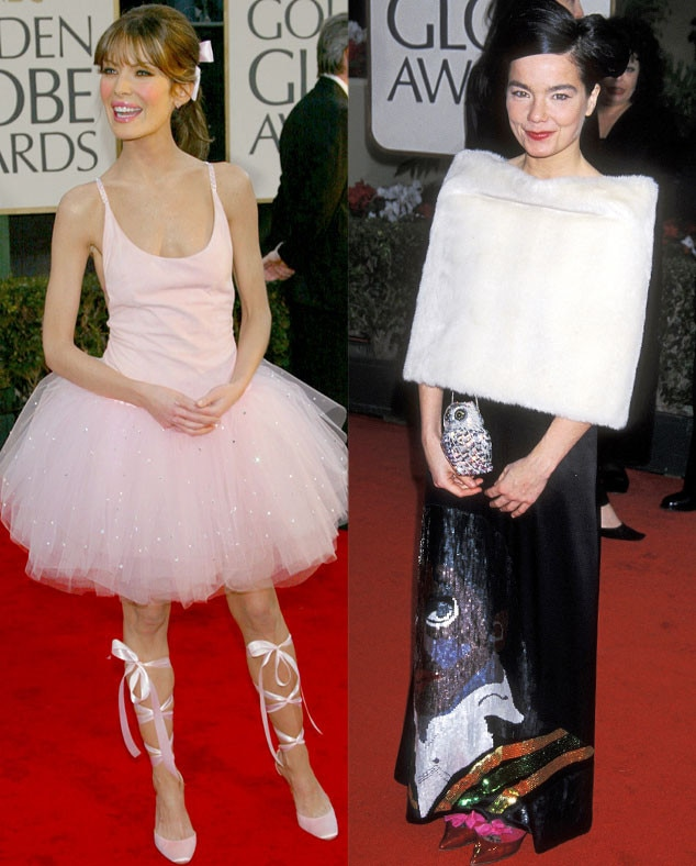 Lara Flynn Boyle, Bjork, Golden Globes