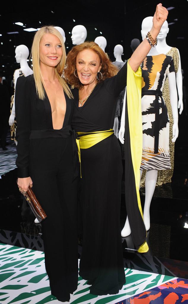 Gwyneth Paltrow, Diane Von Furstenberg, DVF Journey of a Dress