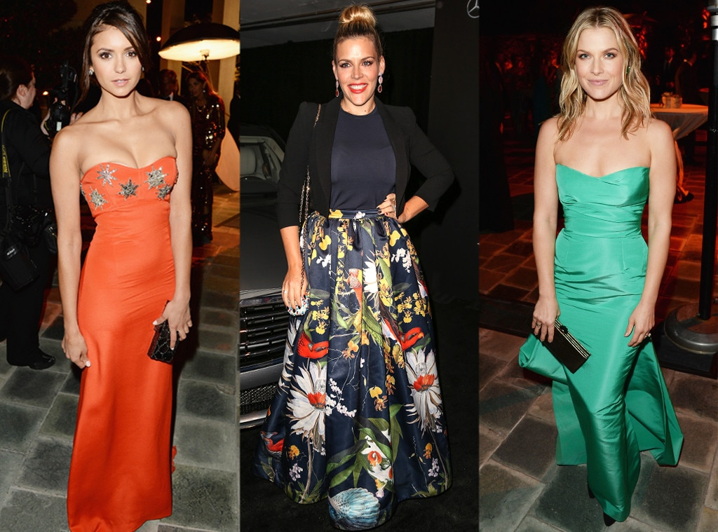 Ali Larter, Nina Dobrev, Busy Phillips, Perrier-Jouët, The Art Of Elysium's 7th Annual HEAVEN Gala