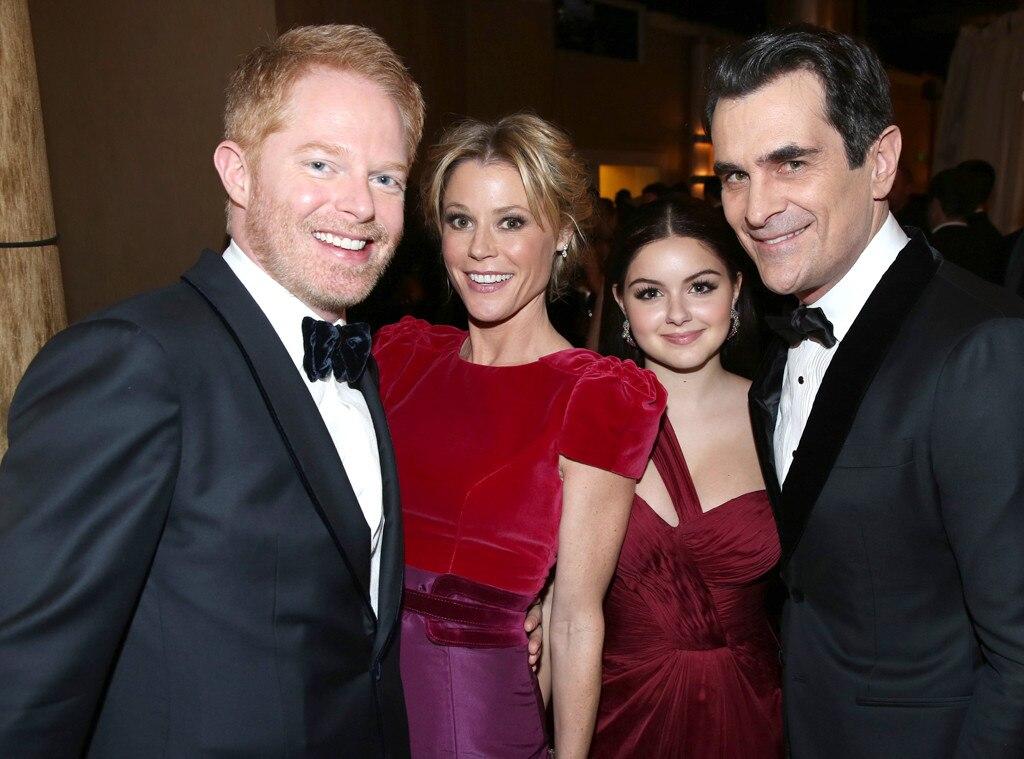 Jesse Tyler Ferguson, Julie Bowen, Ariel Winter, Ty Burrell, Golden Globes 2014