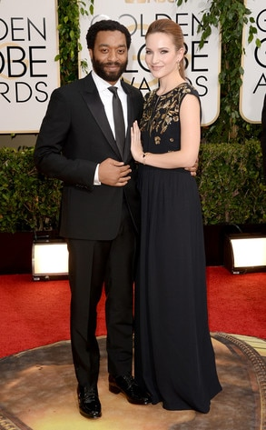 Chiwetel Ejiofor, Sari Mercer, Golden Globes