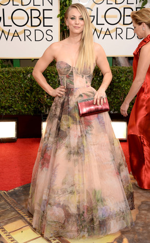 Kaley Cuoco,  Golden Globes
