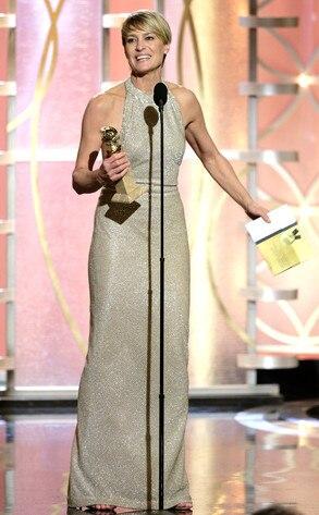 Robin Wright, Golden Globe Awards