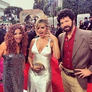 Ali Fedotowsky, Kristina Guerrero & Jason Kennedy