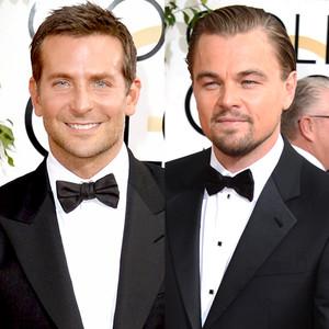 Bradley Cooper, Leonardo DiCaprio, Golden Globes