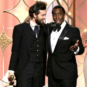 Alex Ebert, Sean Diddy Combs, Golden Globes