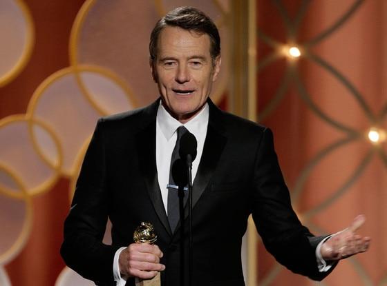 Bryan Cranston Breaking Bad Take Home Golden Globes Yeah