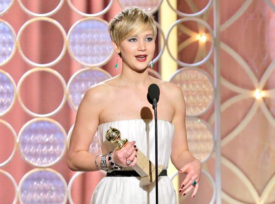 Jennifer Lawrence, Golden Globes 2014, Winner